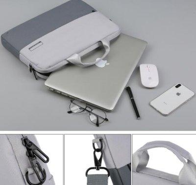 画像3: PCケース パソコンバッグ ノートパソコン ブリーフケース パソコンケース パソコン用バッグ ビジネスバッグ カバン PCバッグ タブレット pcケース 人気